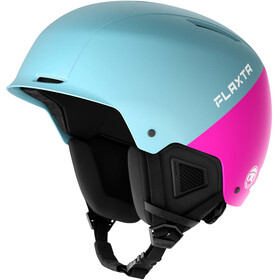 Flaxta Noble Casco Ragazzi, light blue/bright pink
